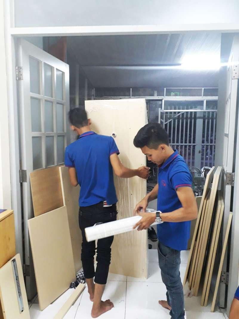 dịch vụ vận chuyển nhà, kho xưởng, văn phòng, taxi tải giá rẻ tp hcm Sài Gòn Xanh 3
