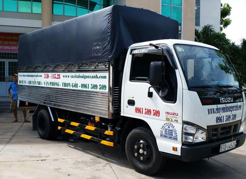 dịch vụ vận chuyển nhà, kho xưởng, văn phòng, taxi tải giá rẻ tp hcm Sài Gòn Xanh