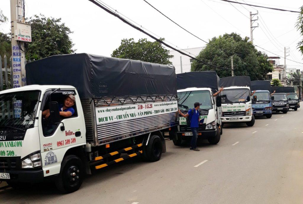 Taxi tải chuyển nhà Sài Gòn Xanh