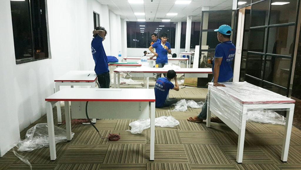 Dịch vụ chuyển văn phòng trọn gói Sài Gòn Xanh