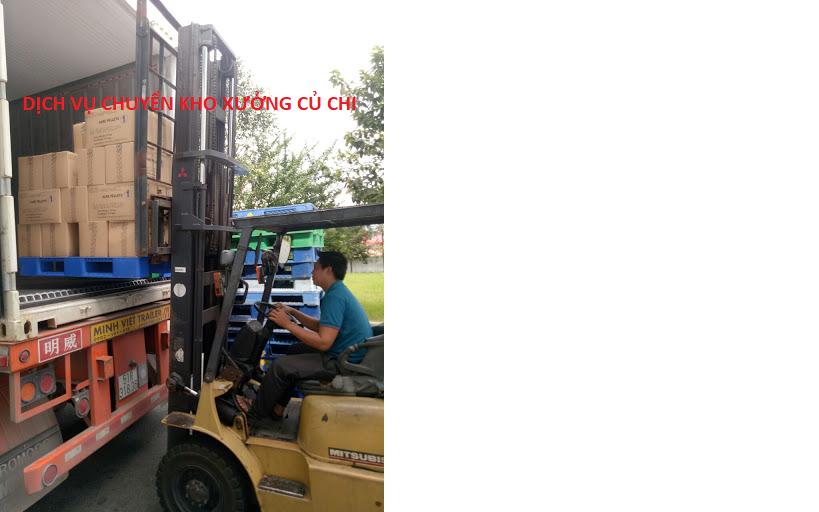 dịch vụ chuyển kho xưởng củ chi