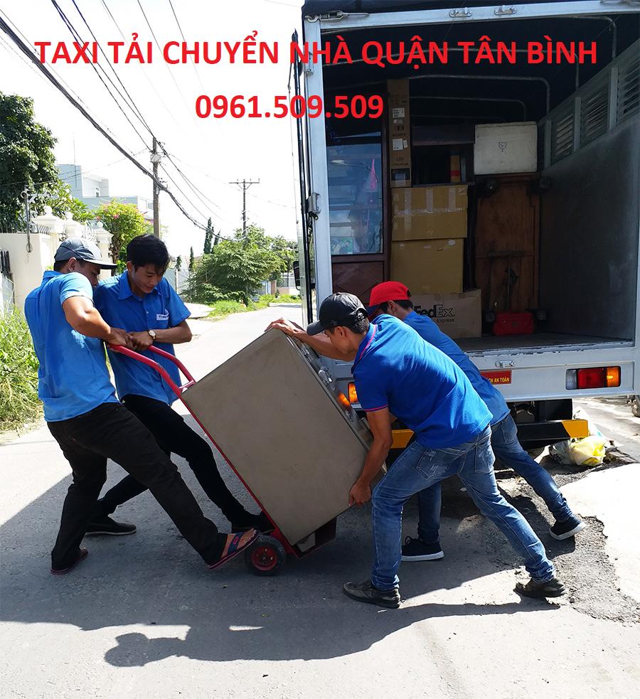 taxi tải chuyển nhà quận tân bình