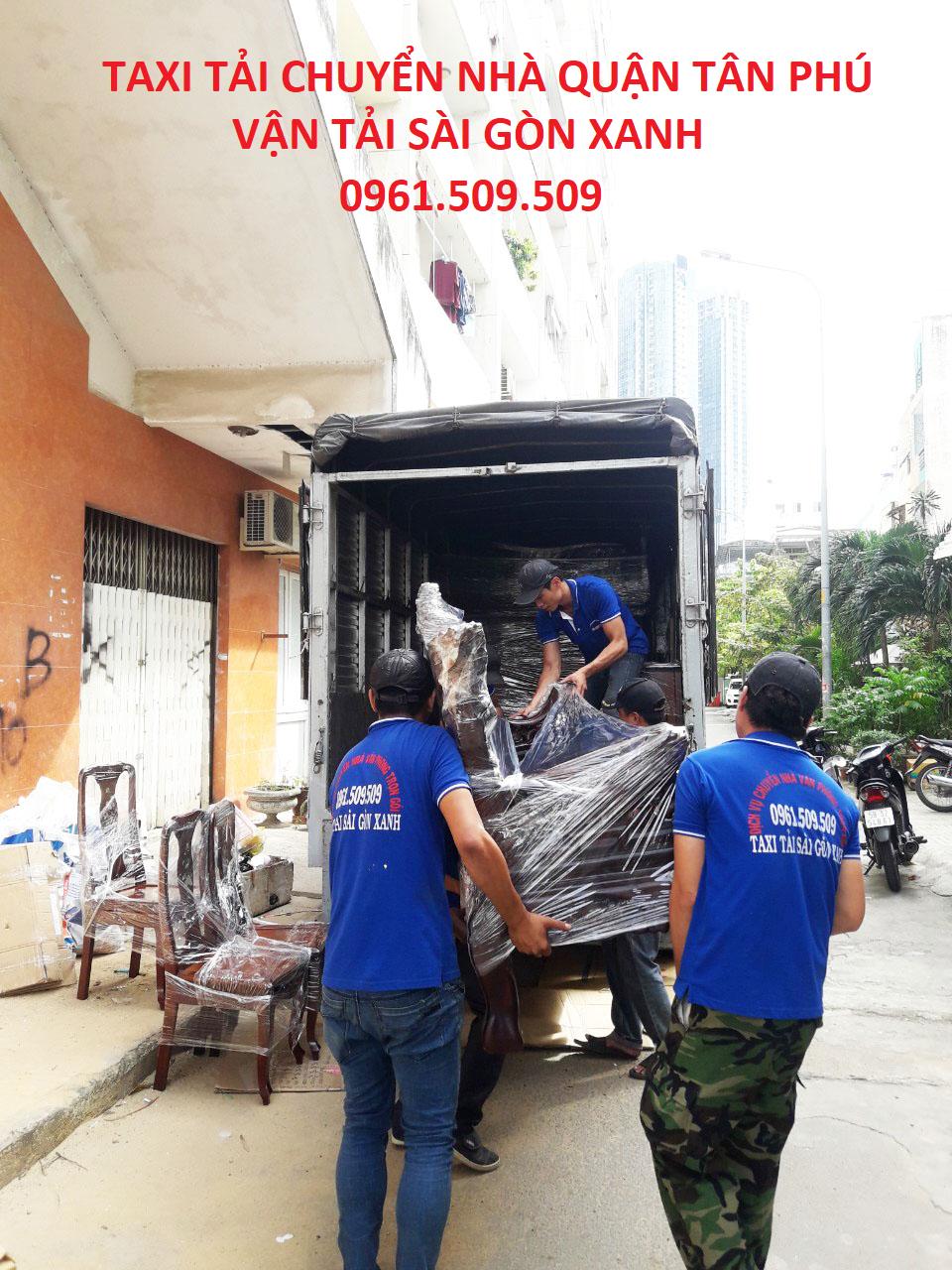 Taxi tải chuyển nhà quận Tân Phú