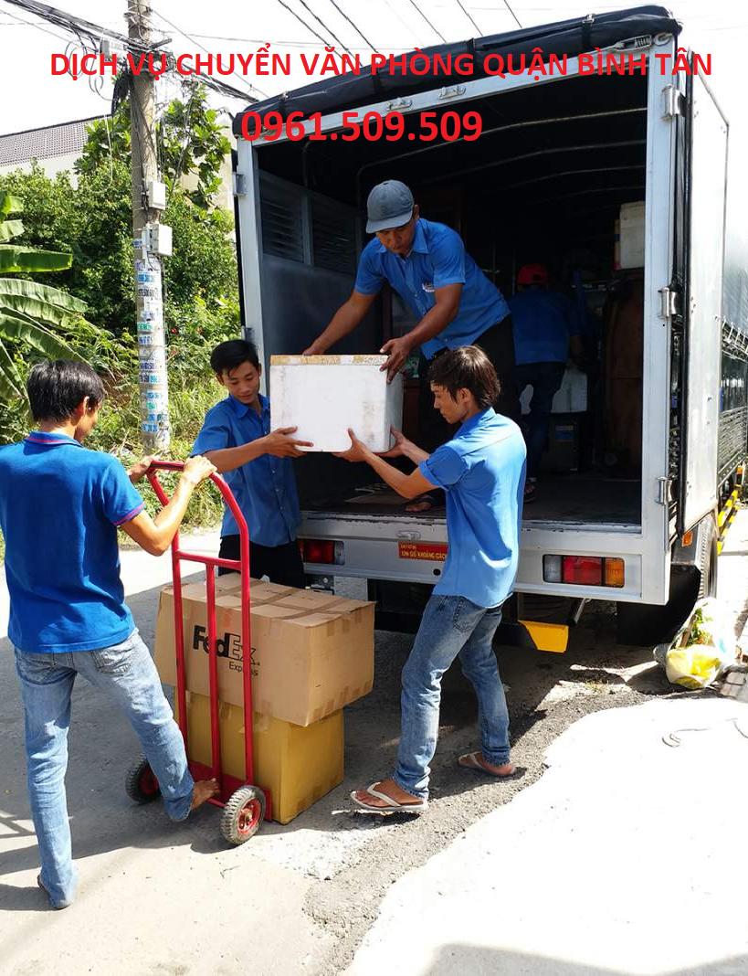 Dịch vụ chuyển văn phòng quận Bình Tân