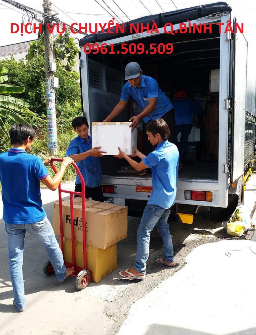 Dịch vụ chuyển nhà quận Bình Tân