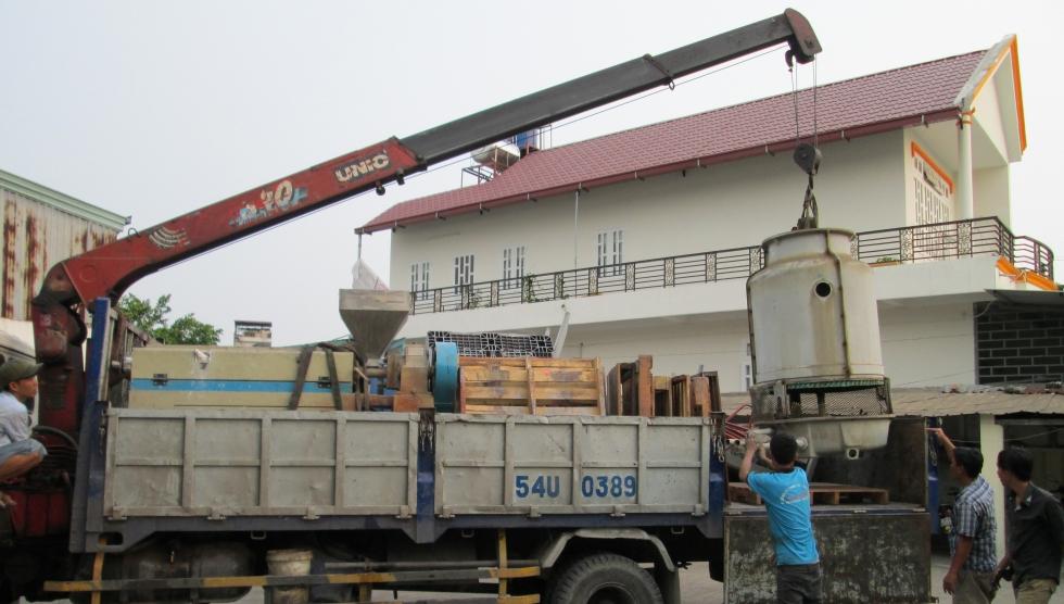 dịch vụ chuyển kho xưởng huyện bình chánh