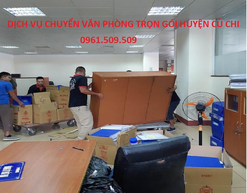 Dịch vụ chuyển văn phòng huyện Củ Chi