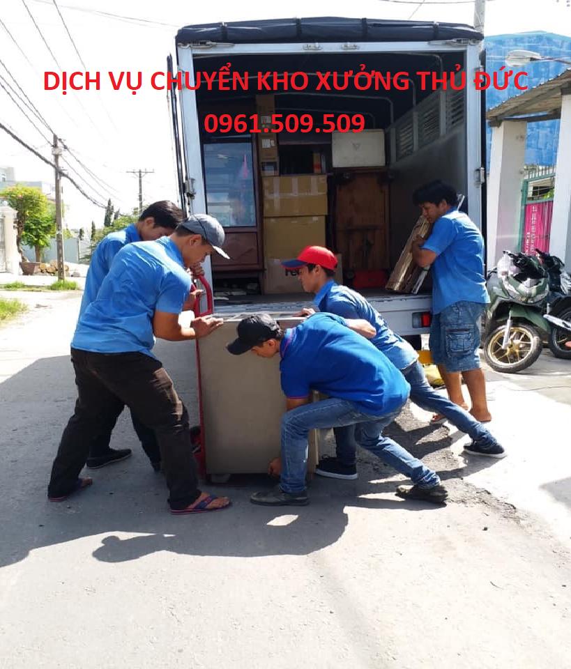 dịch vụ chuyển kho xưởng thủ đức