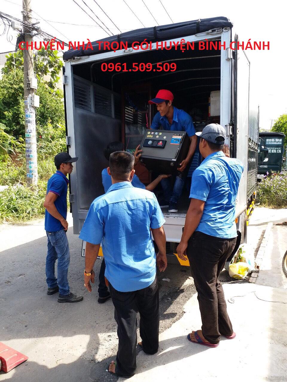 chuyển nhà trọn gói huyện Bình Chánh