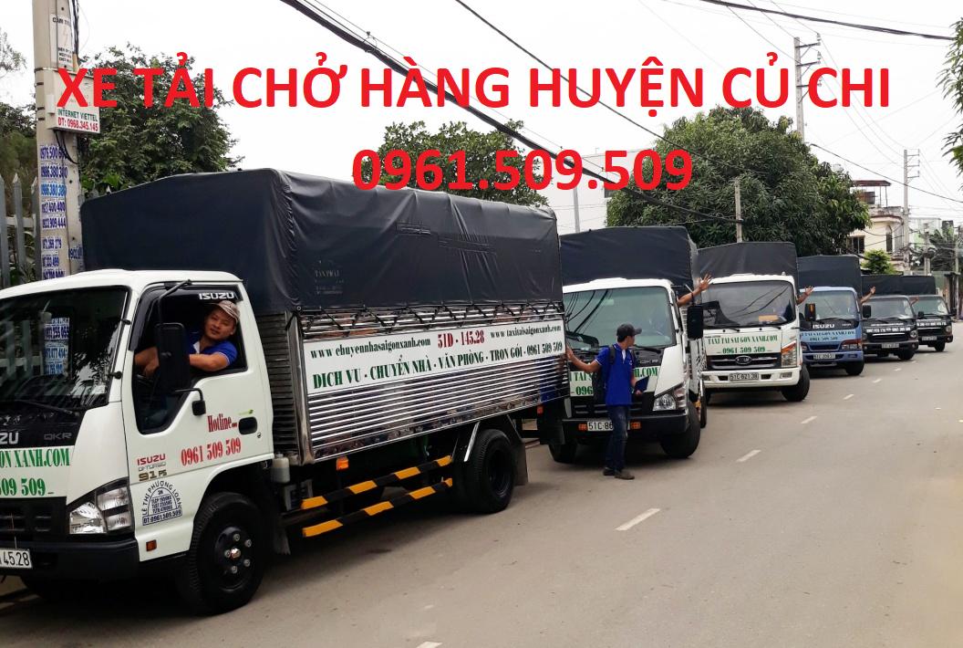 Xe tải chở hàng huyện Củ Chi