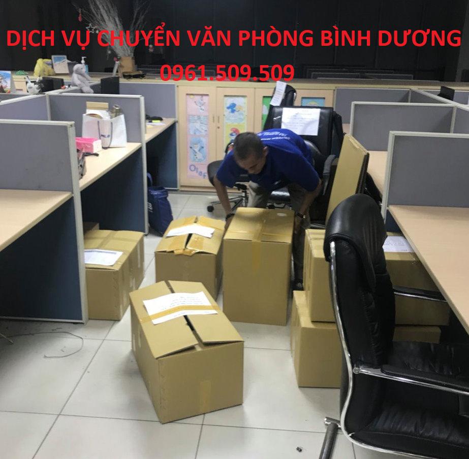 Dịch vụ chuyển văn phòng Bình Dương