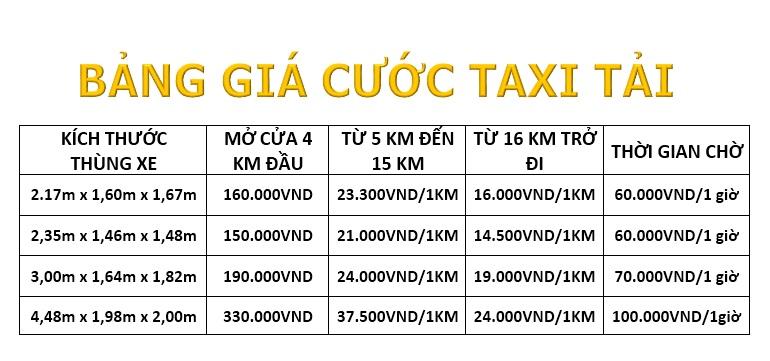 taxi tải Sài Gòn