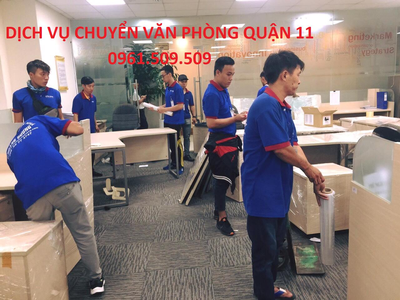 Dịch vụ chuyển văn phòng quận 11