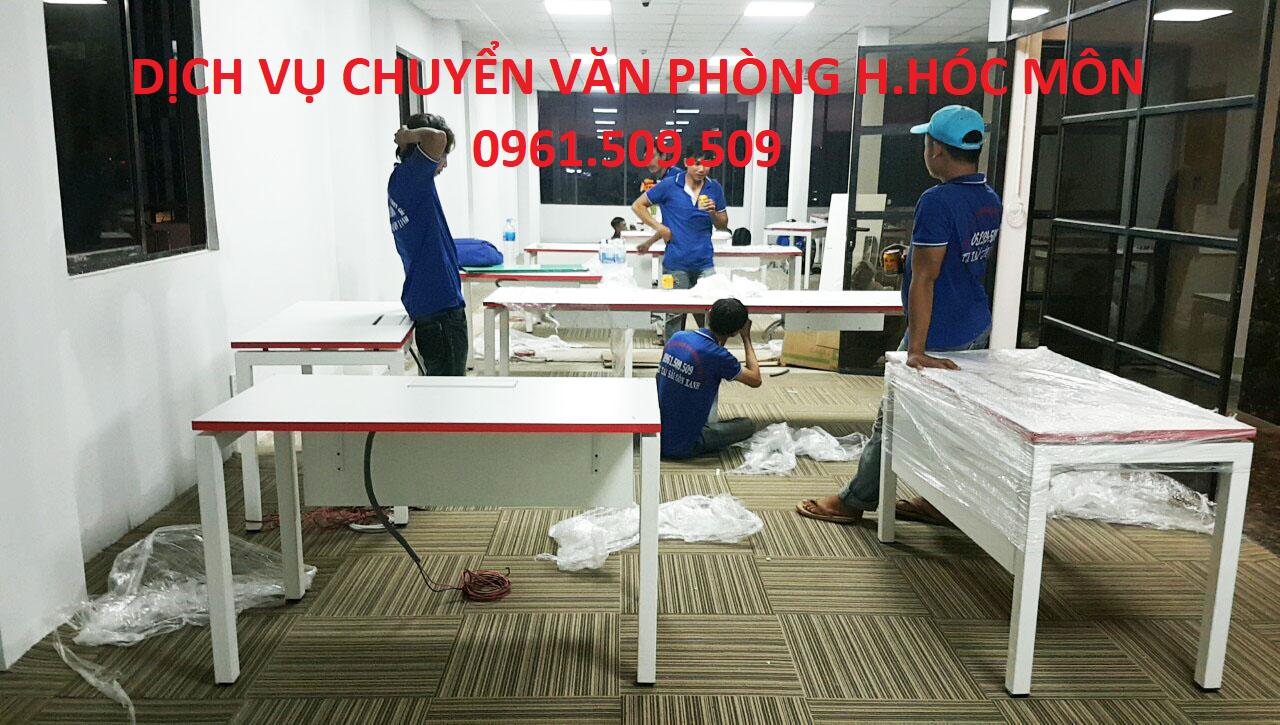 dịch vụ chuyển văn phòng huyện hóc môn