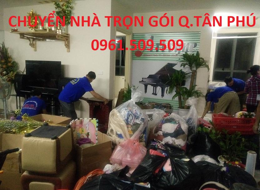 chuyển nhà trọn gói quận Tân Phú