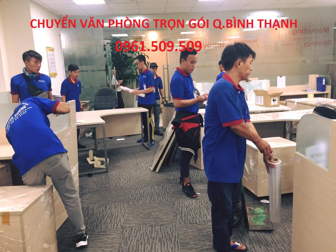 chuyển văn phòng trọn gói quận Bình Thạnh