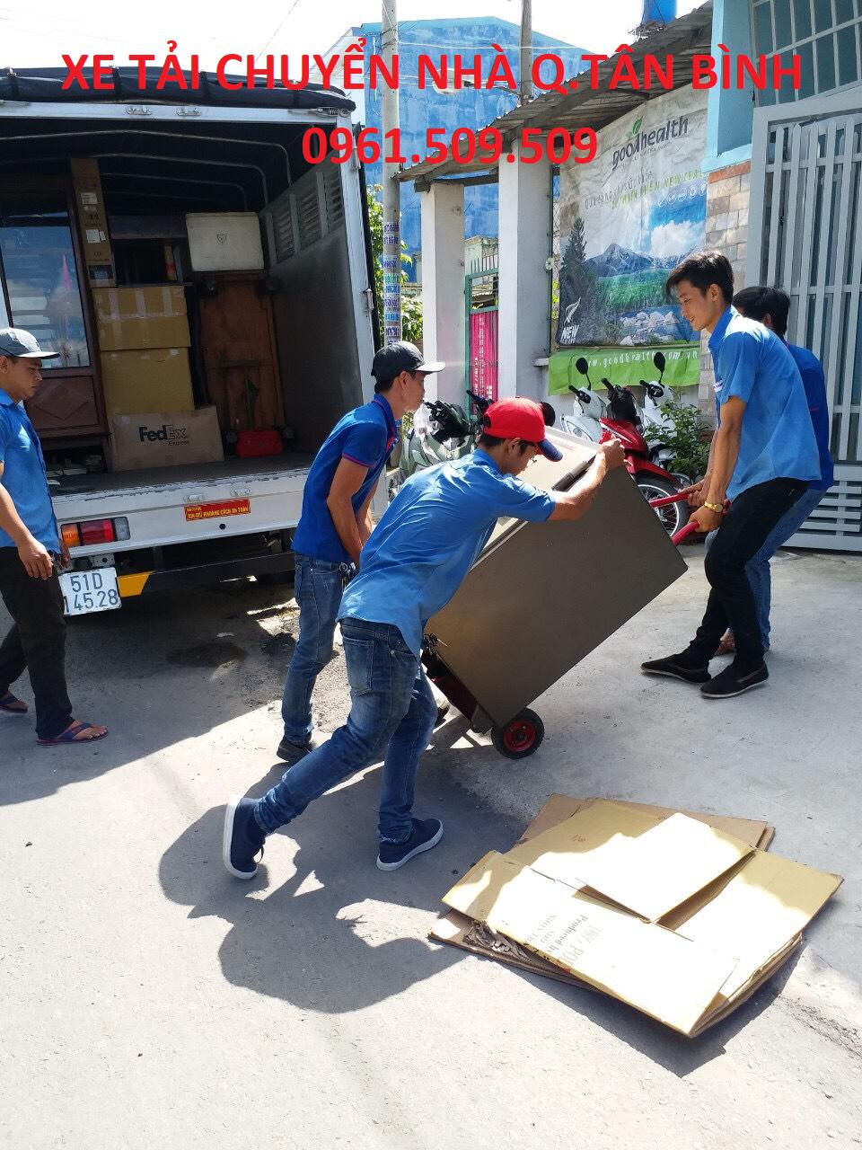 xe tải chuyển nhà quận Tân Bình