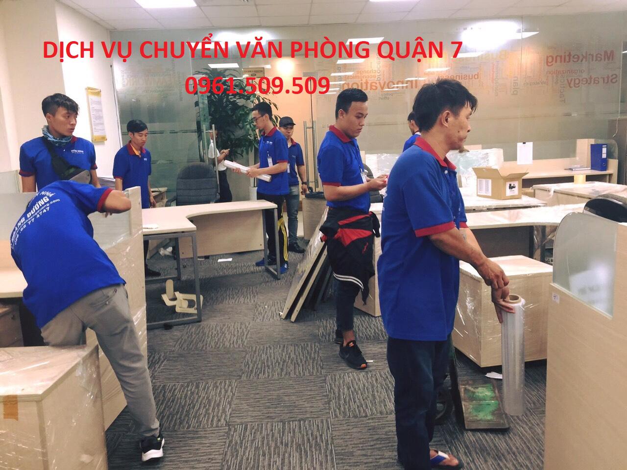 dịch vụ chuyển văn phòng quận 7