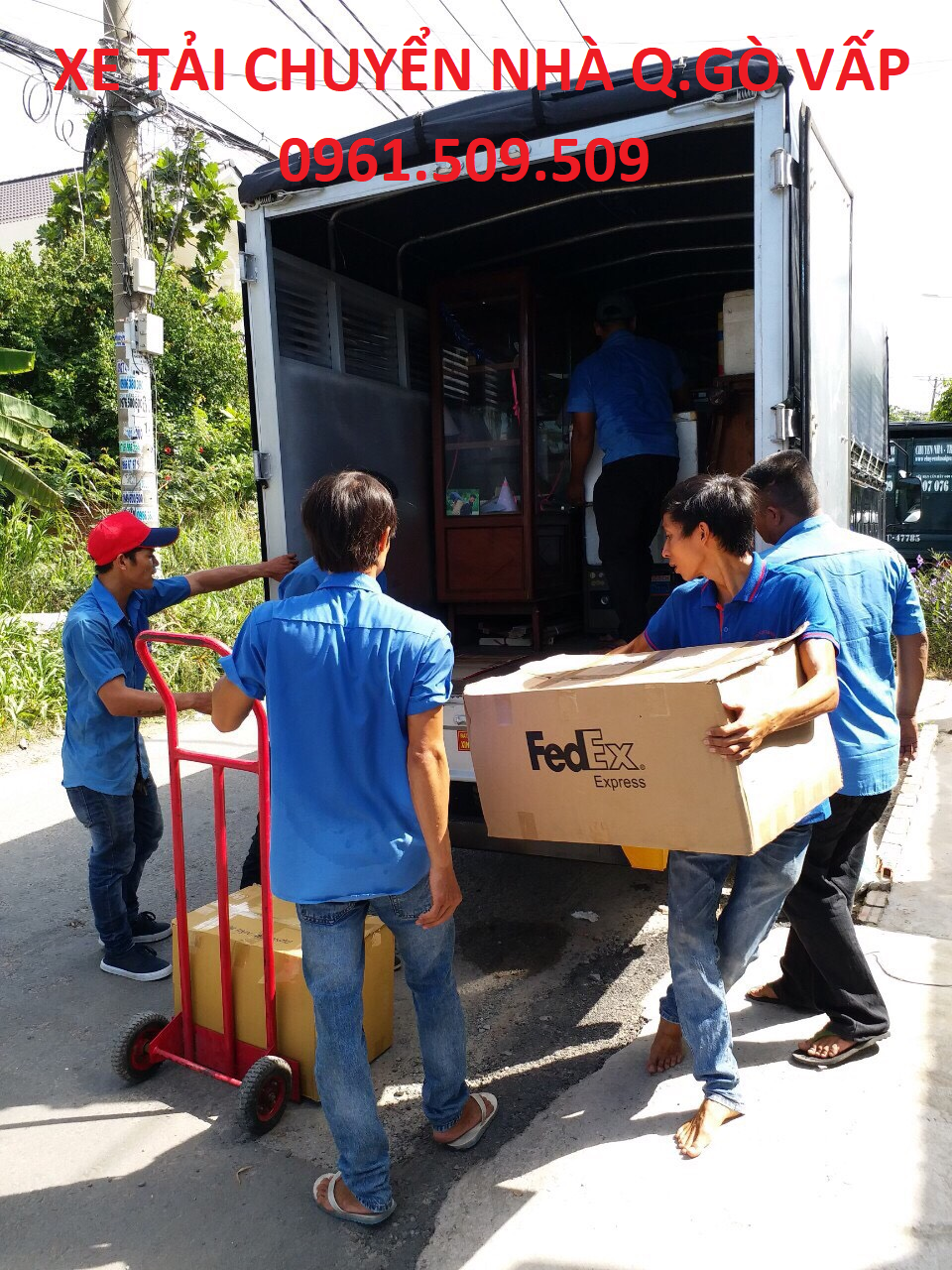 xe tải chuyển nhà quận Gò Vấp