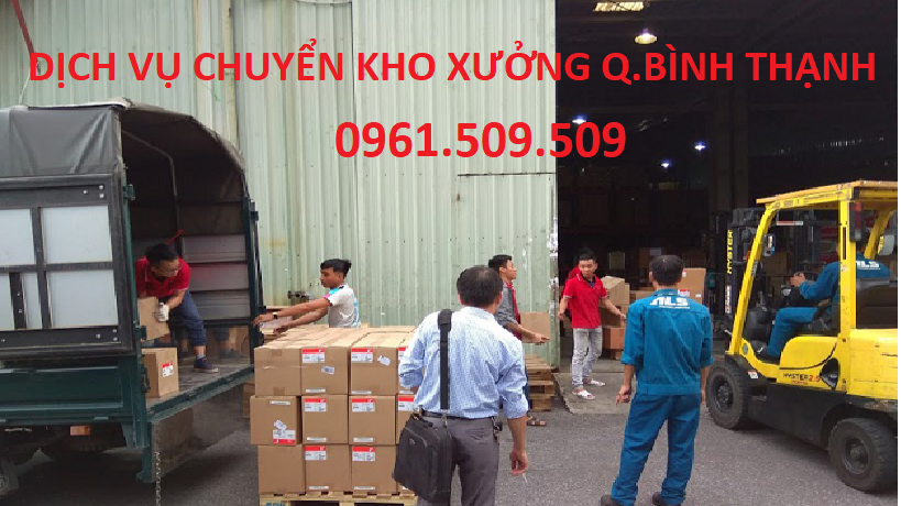 dịch vụ chuyển kho xưởng quận Bình Thạnh