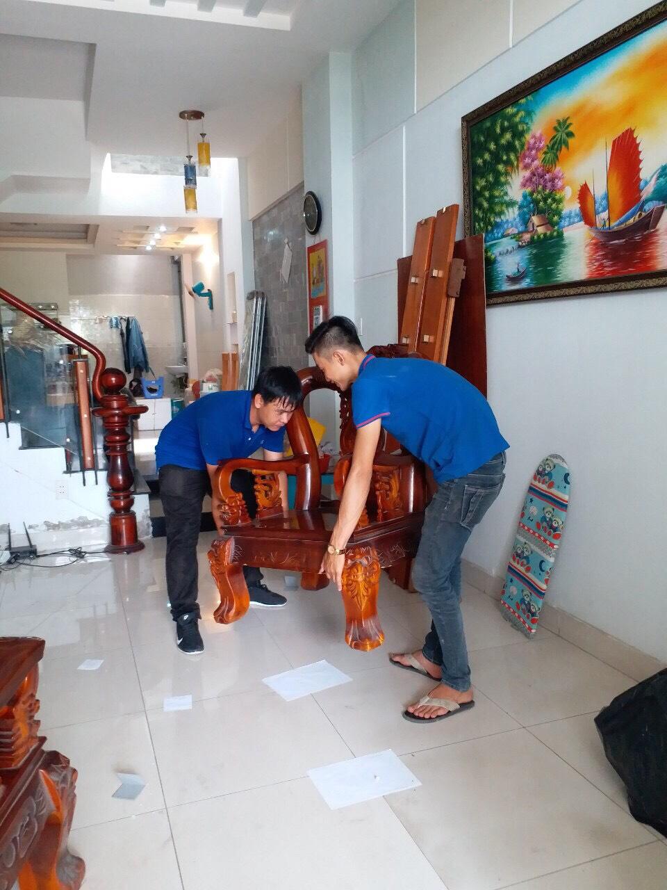 Dịch vụ chuyển nhà trọn gói Sài Gòn Xanh